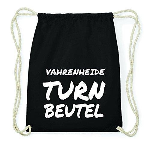 JOllify VAHRENHEIDE Hipster Turnbeutel Tasche Rucksack aus Baumwolle - Farbe: schwarz Design: Turnbeutel uGVLuPr8wJ