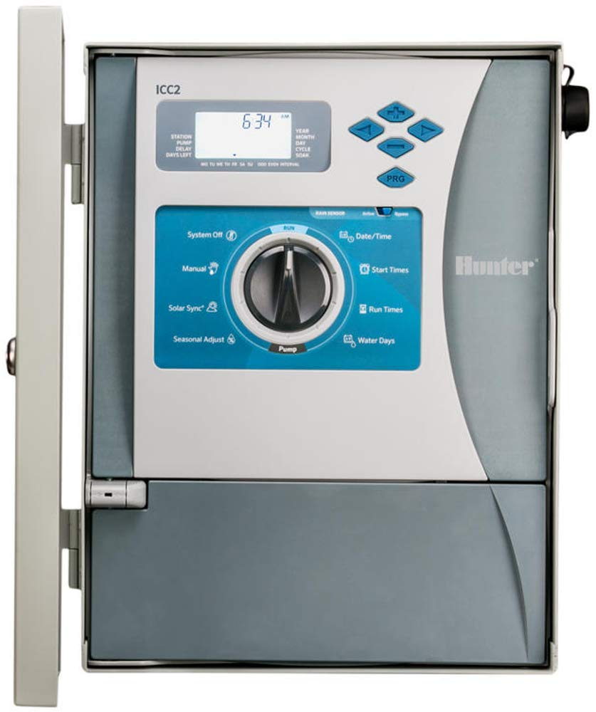SPW Hunter I2C-800-M Metal Cabinet Timer 8-54 Zones I2C800M ICC2 ...