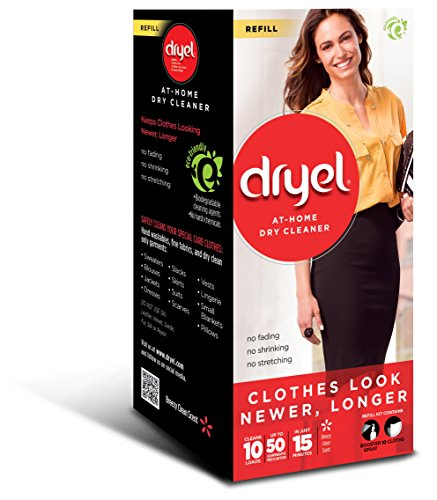 Dryel At Home Dry Cleaner Refill Kit   10 Loads
