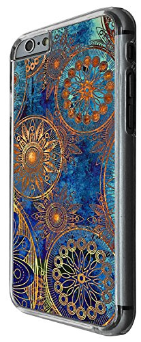 1396 - Cool Fun Trendy cute kwaii space hypnotise kaliedoscope colourful peace art swirl (6) Design iphone 6 Plus / iphone 6 Plus S 5.5'' Coque Fashion Trend Case Coque Protection Cover plastique et m
