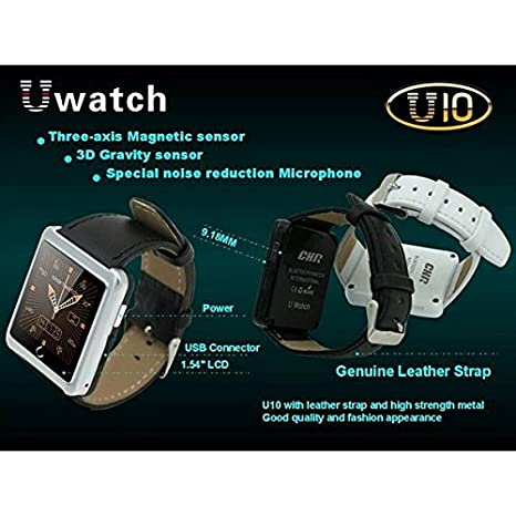Amazon.com: Bazaar Original U10 Sport Bluetooth Smart Wrist ...