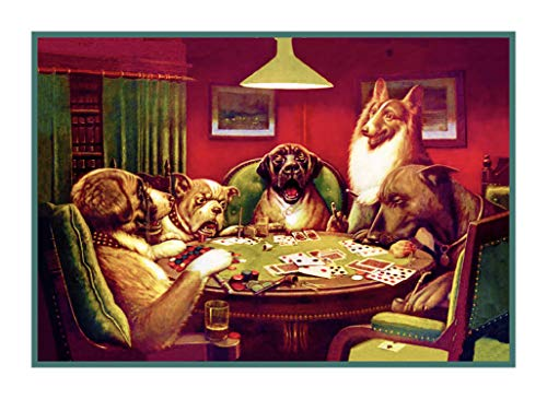 (Orenco Originals Waterloo Dogs Playing Poker by Coolidges Counted Cross Stitch Pattern)