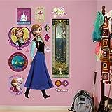 FATHEAD Wall Decal, Real Big, Disney Frozen Anna