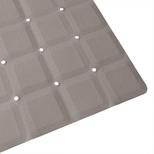 Foldable Non Slip Rubber Bath Mat For Textured Tub