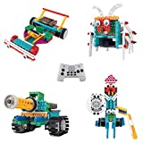 Think Gizmos Build Your Own Robot Toys for Kids - Ingenious Machines Remote Control Robot Building Kit ... (Tank, Bug, Racing Car & Knight)