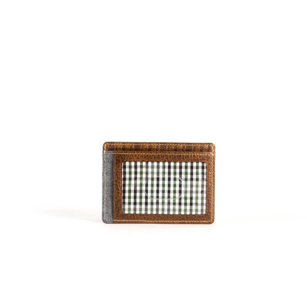 101a8bafbeeb Boconi Caleb LTE Weekender ID Card Case, Leather Wallet in Chestnut ...