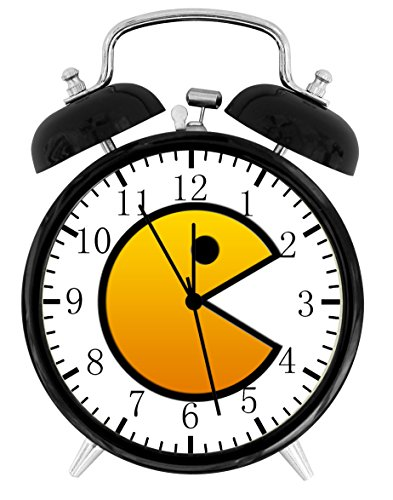 Pac Man Pac-Man Alarm Desk Clock 3.75