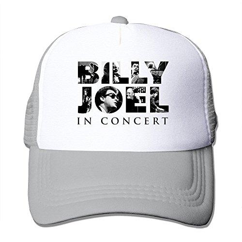 Ash HGLENice Billy Joel Logo Unisex Adjustable Baseball Mesh Cap One Size