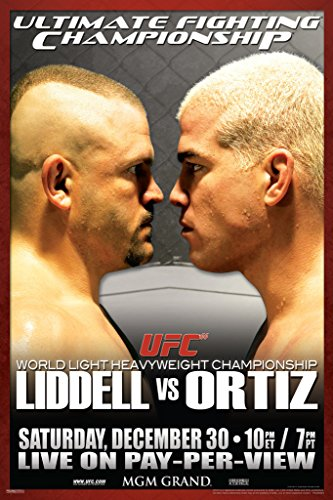 Pyramid America Official UFC 66 Chuck Liddell vs Tito for sale  Delivered anywhere in USA