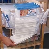 Prince Lionheart Diaper Depot Clear