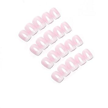 Fingernägel Zum Aufkleben 120 Stück Französisch Falsche Nägel Künstliche Nägel Kurz Künstliche Nägel Set Für Diy Nagelkunst