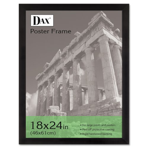 DAX Poster Frames, Hangs Vertically/Horizontally, 18 x 24 Inches, Ebony
