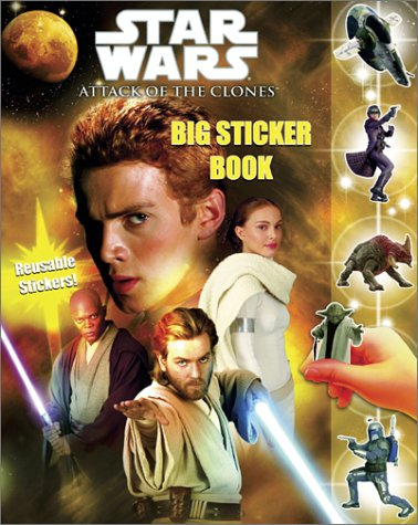 Download Star Wars Episode II: Attack of the Clones Big Sticker Book ebook