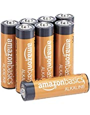 AmazonBasics AA Performance Alkaline Batteries, 8ct (Packaging May Vary)