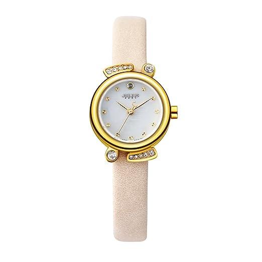 40ba816ec2b0 Buy Julius Relojes Mujer Orologi Donna Women s Wrist Watch Luxury Ja-907  Yellow Online at Low Prices in India - Amazon.in