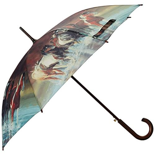 Rivers Edge Products Full Size Horse Umbrella, 45-Inch, Brown