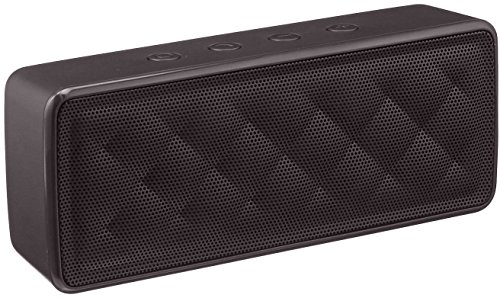 Amazon Basics - Altavoz Portátil Bluetooth, Color Negro