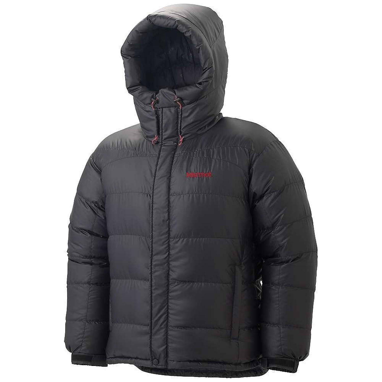マーモット アウター ジャケットブルゾン Marmot Men's Greenland Baffled Jacket Black 21j [並行輸入品] B076X1JVX7