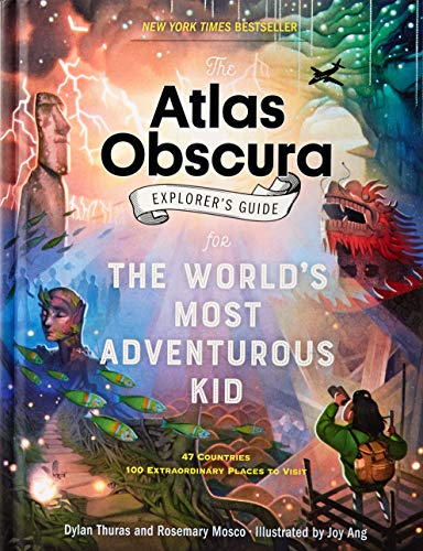 - The Atlas Obscura Explorer's Guide for the World's Most Adventurous Kid