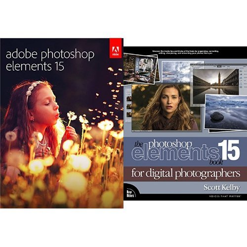 Adobe Photoshop Elements 15 [PC/Mac] with The Photoshop Elements 15 Book for Digital Photographers