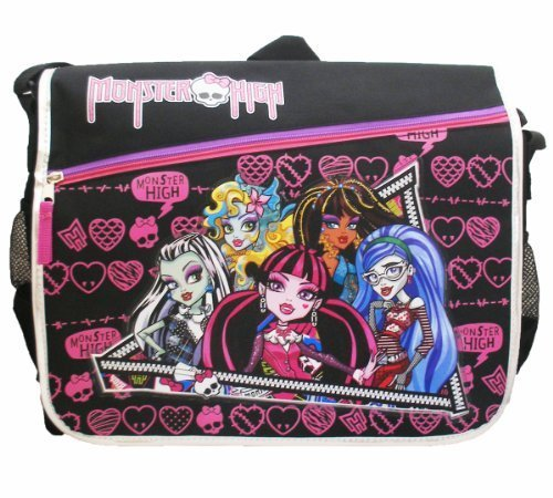 Monster High Black Messenger -
