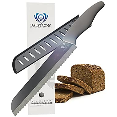 DALSTRONG Bread Knife - Barracuda Blade - Serrated Ceramic - 8