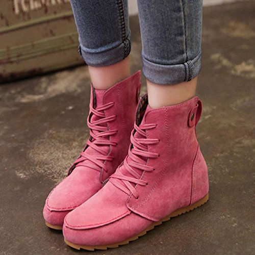 de mujer nieve Botas Hot Pink IGEMY xOwFYq5C