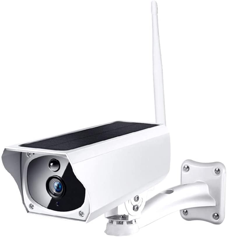 Adealink 2Mp Solar Powered Wireless Security Camera Night Vision Detection Alert Remote Monitor