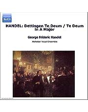 Handel - Te Deum in D major HWV 283 · Te Deum in A major HWV 282 / U. Andersen · Dixon · Mields · M. Wilde · Helbich