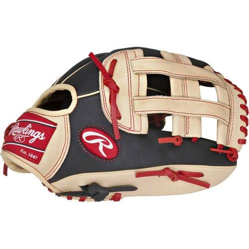 Rawlings Sporting Goods Select Pro Lite Spl120-6/0, 12,Black/Tan/Red