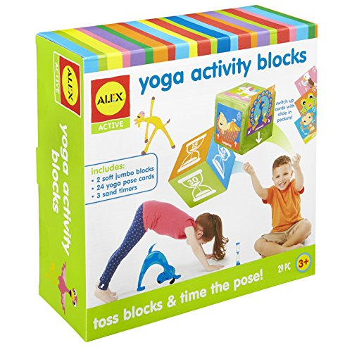 Yoga Blocks are a fun toy for active kids to burn energy indoors