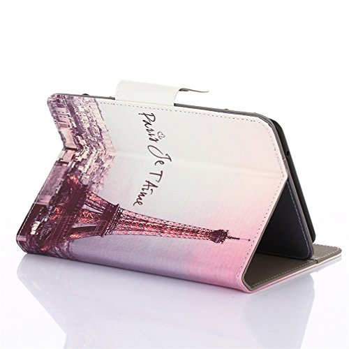 Case for 7 inch Android Tablet PC, Gotd Universal Fit PU Leather Protective Case Stand Cover Shell For 7 inch Android Tablet PC (7INCH)