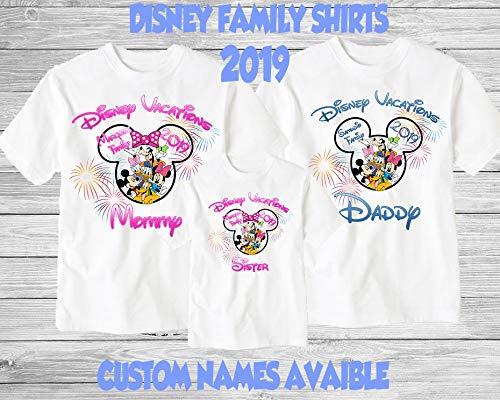 Disney Family Shirts Disney Shirts Disney Family Shirts Mickey Minnie Custom T Shirt Personalized Disney Shirts For Family Shirts Matching