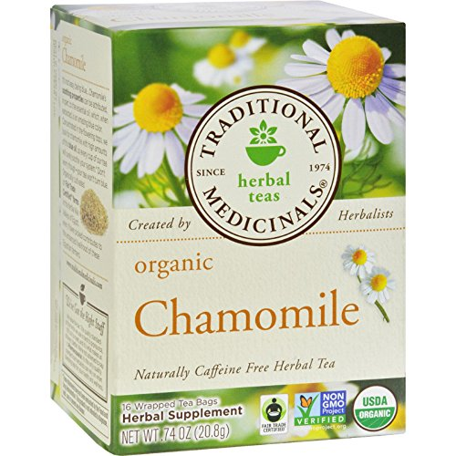 Traditional Medicinals Organic Ginger with Chamomile Herbal Leaf Tea