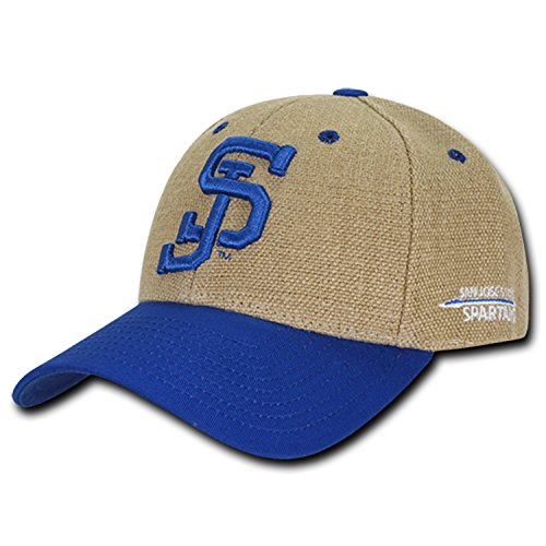 University of San Jose State Spartans Structured Jute Baseball Ball Cap ()