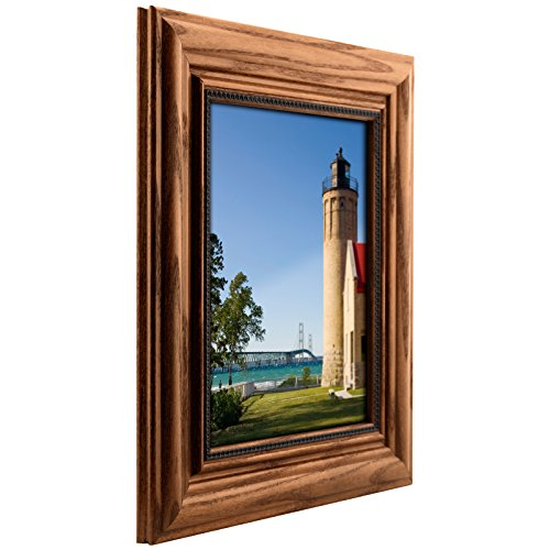 Craig Frames 15177483250 11 by 14-Inch Picture Frame, Solid Wood, 2.25-Inch Wide, Honey Oak