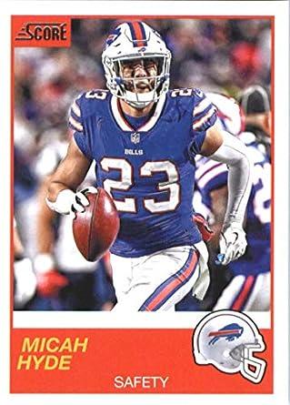 buy online b975d b9b98 Amazon.com: 2019 Score Football #131 Micah Hyde Buffalo ...