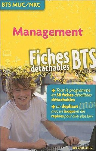 Livre gratuits en ligne Management BTS MUC/NRC epub pdf