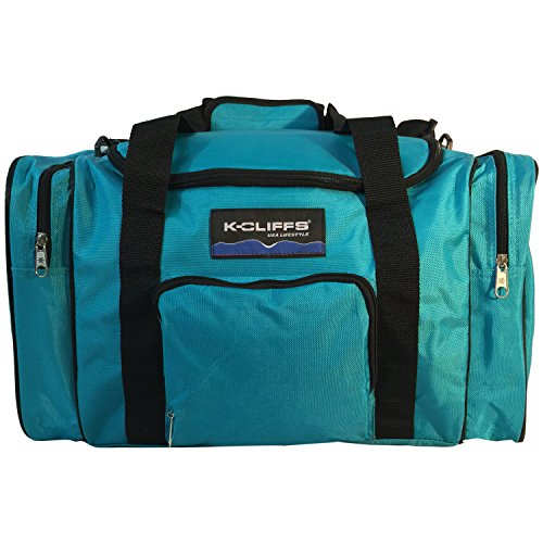 Sport Duffle Bag Fitness Gym Bag Luggage Travel Bag Sports Equipment Gear Bag Blue Review