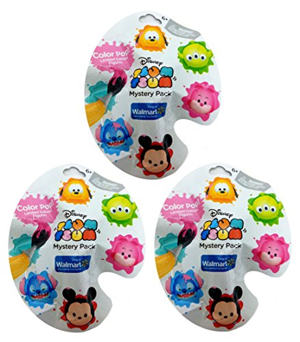 Disney Tsum Tsum Color Pop! Exclusive Mystery Packs, Quantit