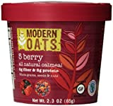 Modern Oats All Natural Oatmeal Cups - 5 Berry 2.3 oz (Pack of 12)