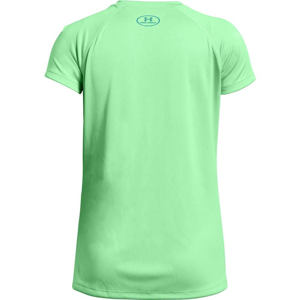 Maglietta A Maniche Corte Big Logo Tee Solid Ss Bambina Under Armour