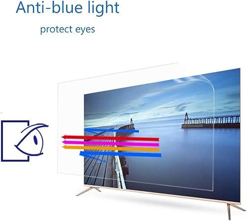 ZSLD 49 Pulgadas De Monitor De TV Protector De La Pantalla, Antideslumbrante Claro/Azul/Arañazos De Cine, Bloque Nocivo Blue-Ray Y Proteja Sus Ojos, para LCD/LED/OLED (Esmerilado Película): Amazon.es: Hogar