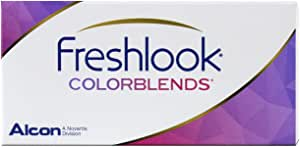 Freshlook Monthly Colorblends Gray (-1.50) - 2 Lens Pack
