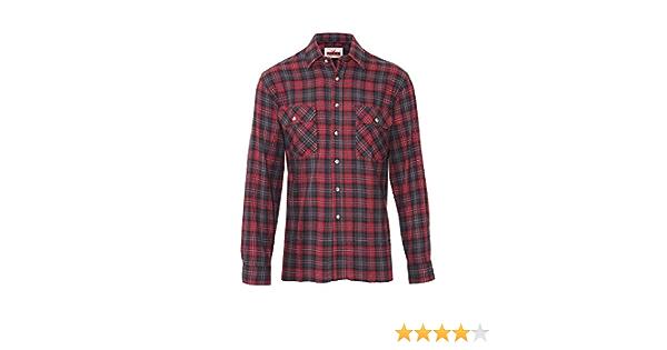 Camisa de trabajo estilo leñador para hombre, 100% algodón ...