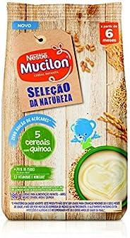 Cereal Infantil, Seleção Da Natureza, 5 Cereais com Quinoa, Mucilon, 180g