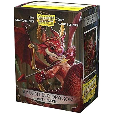 Sleeves: Dragon Shield Limited Edition Matte Art: Valentine Dragon (100): Toys & Games