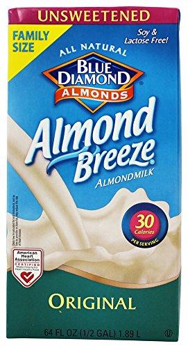 Blue Diamond Growers Almond Breeze Original Non Dairy Beverage, 64 Ounce -- 8 per case. ()