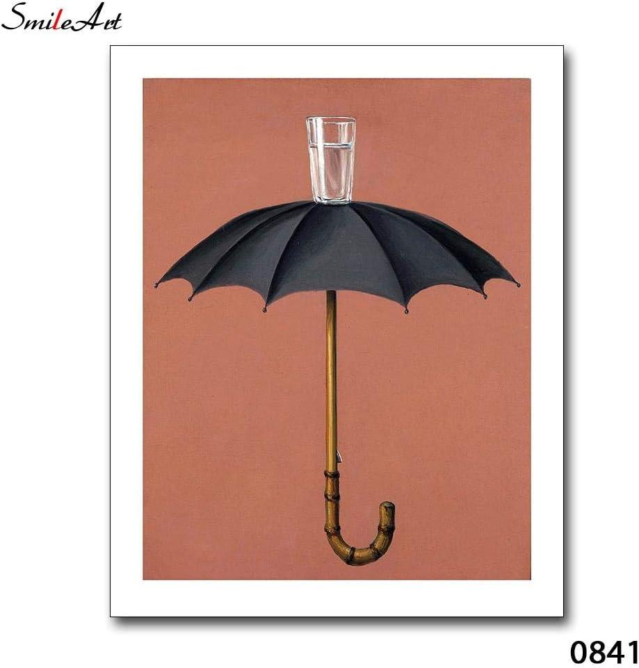 Sin Marco Funny Funny Umbrella Canvas Art Print Wall Poster Wall ...