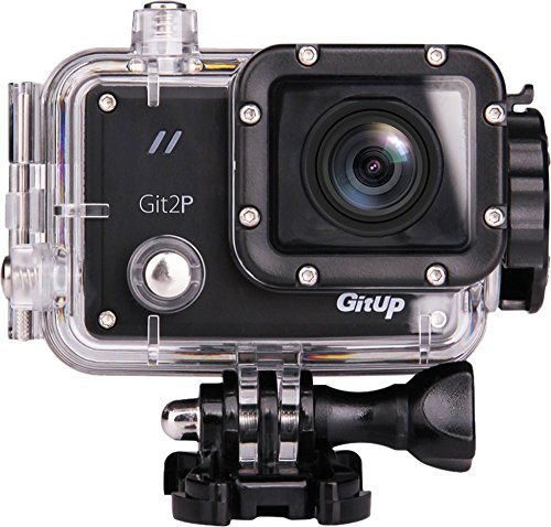 Gitup Git2P Pro Panasonic Sensor Action Sports Camera WiFi 1080P HD Waterproof DVR Helmet Cam HDMI Out (Git2P+30 in1 Accessories+Mic and Remote Control) Action Cameras GitUp